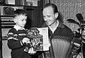 Lojze Slak s sinom Slavkom 1966.jpg