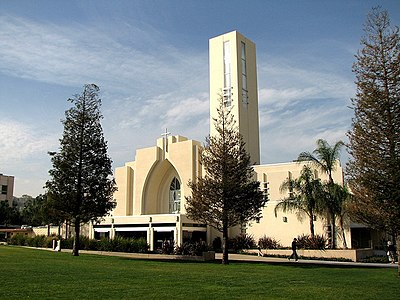 Loma Linda University Seventh-day Adventist Church, which has over 7000 members. Loma Linda University Church 01.jpg