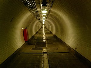 Woolwich foot tunnel - Image: London, Woolwich foot tunnel 08