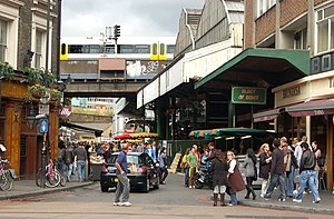 Looking north along Stoney Street to Borough market - geograph.org.uk - 1522145.jpg
