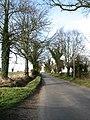 Looking northwest on Barnham Broom Road - geograph.org.uk - 669977.jpg