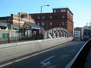 Royal Oak tube station London Underground station