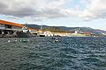 """Los muelles de la Escuela Naval Militar. A la izquierda se ve el Patrullero """"Tabarca"""" P-28, y a la derecha el """"Atalaya"""" P-74 (16600840306).jpg"""