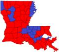 Louisiana Lt. Gov. runoff, 2015.png