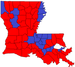 Louisiana Lt. Gov. runoff, 2015.png