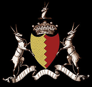 Baron Athenry - Arms of Bermingham, Earls of Louth and Barons Athenry