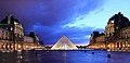 Louvre at dusk.JPG