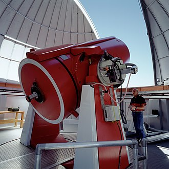 A 1.2-meter (47 in) reflecting telescope Lso-swiss.jpg