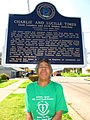 Lucille Times & Historical Marker.JPG