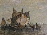 Ludwig Dill - Fischer auf ihren Booten.jpg