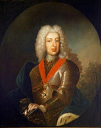 Duchess Sibylle of Saxe-Lauenburg - Sibylles eldest surviving son, Louis George, for whom  she was Regent