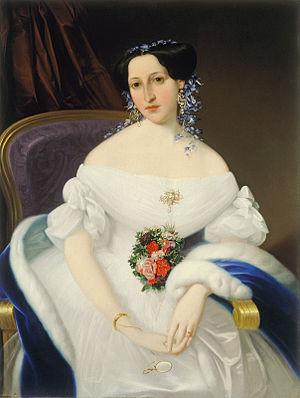 Mihael Stroj - Portrait of Luiza Pesjak