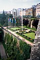 Luxembourg, formal garden between the fortresses.jpg
