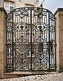 Luxembourg City Musée national d'histoire et d'art grille en fer forgé.jpg