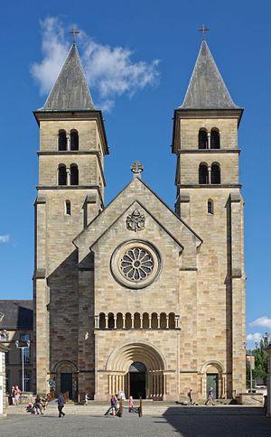 Echternach - Image: Luxemburg Echternach BW 2016 08 06 17 30 05