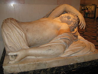 Lyceus - Sleeping Apollo, Roman (Hermitage Museum)