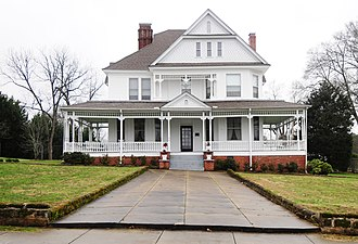 National Register of Historic Places listings in Laurens County, South Carolina - Image: Lyde Irby Darlington House