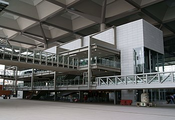 Málaga airport transport interchange.jpg