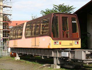 M-Bahn former Berlin magnetic levitation train