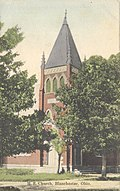 M. E. Church, Blanchester, Ohio. (12660461124).jpg