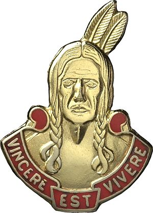 Army National Guard and Active Regular Army Units with Colonial Roots - Distinctive Unit Insignia: 101st FA