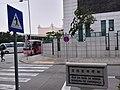 MC 澳門 Macau 氹仔 Taipa 望德聖母灣街 Rua da Baía de Nossa Senhora de Esperança road name sign evening January 2019 SSG 03.jpg