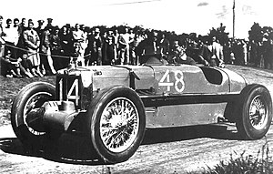 MG K-type - John Barraclough won the 1949 Australian Hillclimb Championship at Rob Roy driving a K3 Magnette
