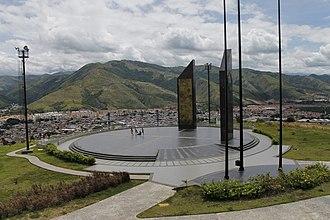 La Victoria, Aragua - Image: MONUMENT TO YOUTH VENEZUELA