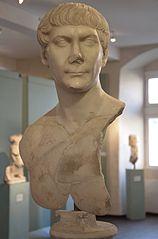 Buste de Trajan Ra 117