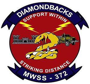 Marine Wing Support Squadron 372 - MWSS-372's insignia