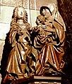 Maastricht, OLV-basiliek, vieringspijler, Anna te Drieën (cropped).jpg