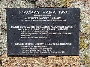 Wallendbeen - Image: Mackay Park Wallendbeen
