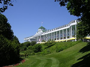 Grand Hotel in Mackinac Island, Michigan, Unit...