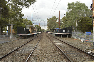 Macleod railway station railway station in Macleod, Melbourne, Victoria, Australia