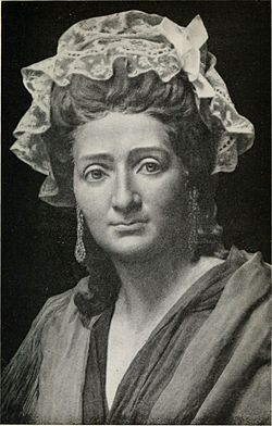 Madame tussaud, age 42