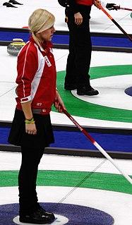 Madeleine Dupont Danish curler from Hvidovre