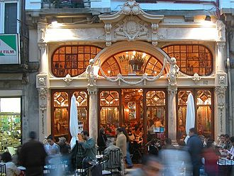 Porto - The iconic Majestic Café
