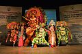 Mahisasuramardini - Chhau Dance - Royal Chhau Academy - Science City - Kolkata 2014-02-13 9130.JPG