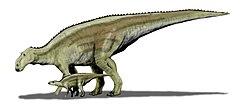 Maiasaura BW.jpg