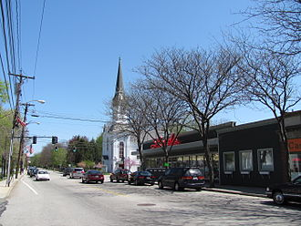 Medfield, Massachusetts - Main Street