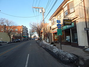 West Orange, New Jersey - Main Street in West Orange