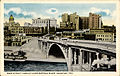 Main Street Viaduct and Ship Channel, Houston, Texas.jpg