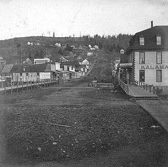 Kalama, Washington - Kalama in 1900