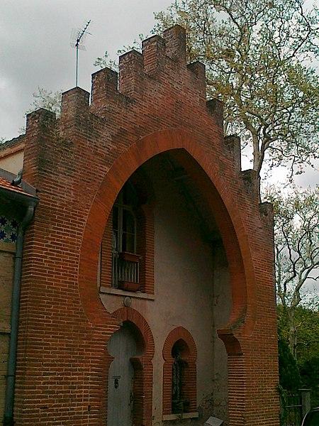 Maison du village de Saint-Rome (Haute-Garonne, France)