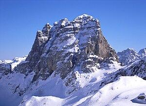 Maja e Thatë (2406 m) in the Albanian Alps