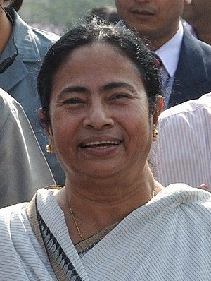 Ma Mati Manush - Mamata Banerjee, current Chief Minister of West Bengal, coined the slogan