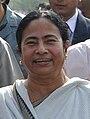 Mamata Banerjee - Kolkata 2011-12-08 7542 Cropped.JPG