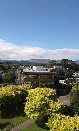 Massey University - Manawatu campus in 2017.