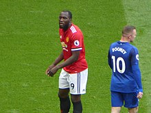 8b8c265c721 Rooney (pictured with Manchester United striker Romelu Lukaku in September  2017) retained the number 10 jersey at club level when he moved to Everton  in ...