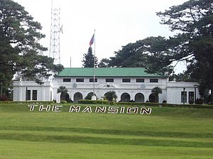 English: The Mansion House in Baguio city, Phi...